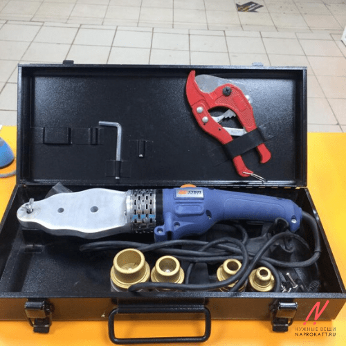 Аппарат для сварки пластиковых труб, комплект